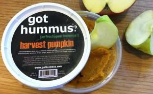 freshapeel pumpkin hummus 11.20.13
